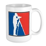 Major League Birder Large Mug