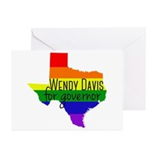 Wendy Davis Rainbow Greeting Cards (Pk of 20)