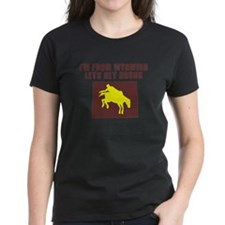 FUNNY WYOMING SHIRT DRINKING  Tee