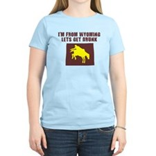 FUNNY WYOMING SHIRT DRINKING  T-Shirt