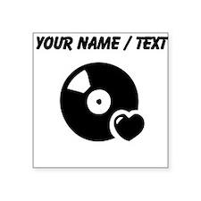 Custom Record Love Sticker