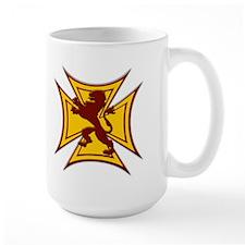 Royal Scottish Biker Cross Large Coffee Cup