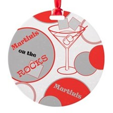Martinis on the Rocks Ornament
