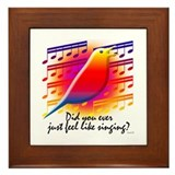 BIRDSONG Framed Tile