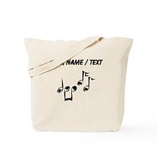 Custom Music Notes Tote Bag