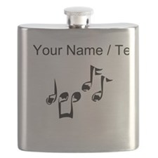 Custom Music Notes Flask