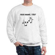Custom Music Notes Sweatshirt