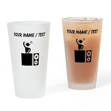 Custom DJ Booth Drinking Glass