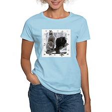 Black and Gray Squirrels T-Shirt