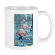 Flamingoes Mug