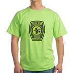 Salem Bike Police Green T-Shirt