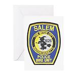 Salem Bike Police Greeting Cards (Pk of 10)