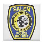 Salem Bike Police Tile Coaster
