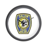 Salem Bike Police Wall Clock