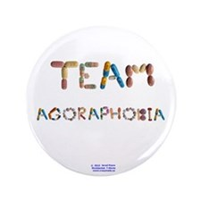 "Team Agoraphobia 3.5"" Button (100 Pack)"
