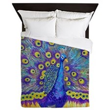 Popular Peacock Queen Duvet