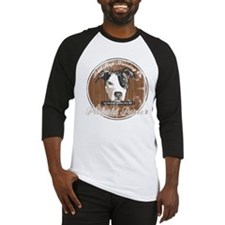 Unique Pit bull rescue Baseball Jersey