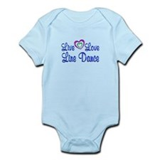 Live Love Line Dance Infant Bodysuit