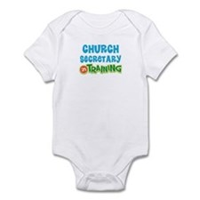 Church secretary in training Infant Bodysuit