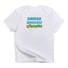 Church secretary in training Infant T-Shirt