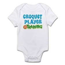 Croquet player in training Infant Bodysuit