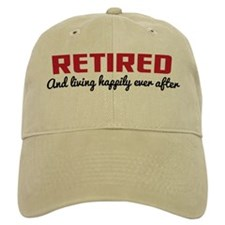Happily Retired Baseball Cap