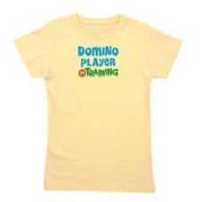 Domino player in training Girl's Tee