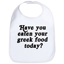 greek food today Bib