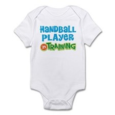Handball player in training Infant Bodysuit