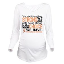 Uterine Cancer How S Long Sleeve Maternity T-Shirt