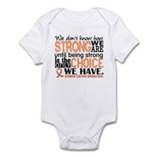 Uterine Cancer How Strong We Are Infant Bodysuit
