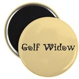 "Golf Widow 2.25"" Magnet (10 pack)"