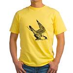 Peregrine Sketch Yellow T-Shirt