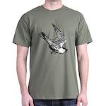 Peregrine Sketch Dark T-Shirt