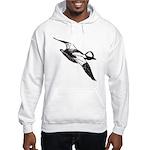 Bufflehead Sketch Hooded Sweatshirt