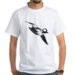 Bufflehead Sketch White T-Shirt