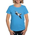 Bufflehead Sketch Women's Dark T-Shirt