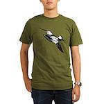 Bufflehead Sketch Organic Men's T-Shirt (dark)