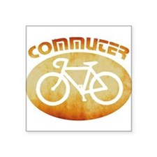 "Cool Bicycles mountain Square Sticker 3"" x 3"""
