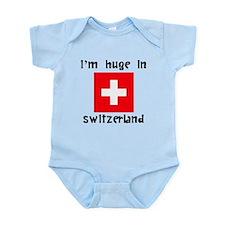 Im Huge In Switzerland Body Suit