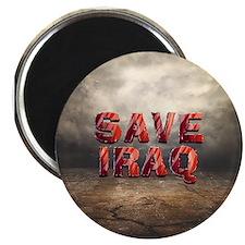 "Save Iraq 2.25"" Magnet (10 pack)"