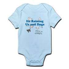 Raining Us and Dogs Body Suit