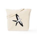 Scissor-tailed Kite Cartoon Tote Bag