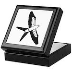 Scissor-tailed Kite Cartoon Keepsake Box