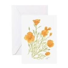 Unique Wildflowers Greeting Card