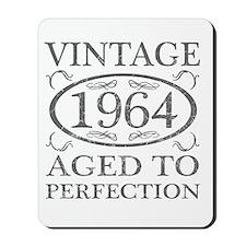 Vintage 1964 Birth Year Mousepad