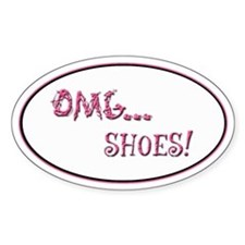 OMG Shoes 2.0 Oval Decal