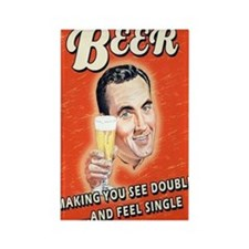 Beer Feel Single Magnets