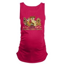 OCD Obsessive Canine Disorder Maternity Tank Top
