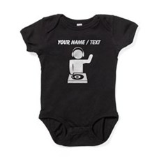 Custom Music DJ Baby Bodysuit